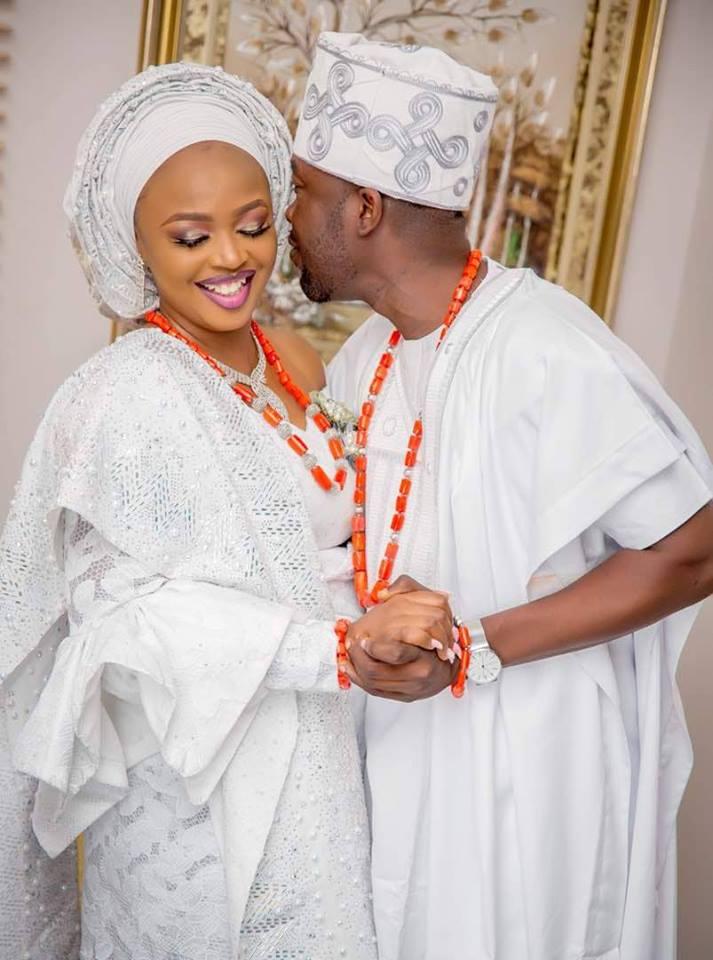 Biola and Gbemi Weds In Ibadan