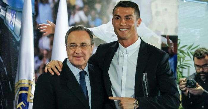 Cristiano Ronaldo & Florentino Pérez