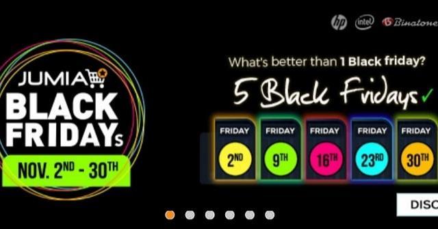 Jumia Black Friday 2018