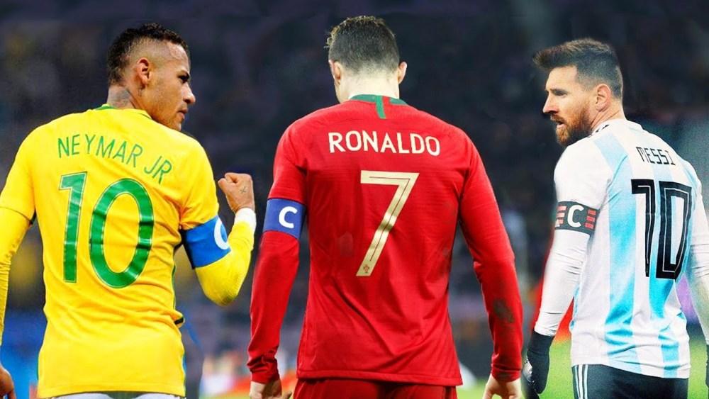Neymar vs Ronaldo vs Messi