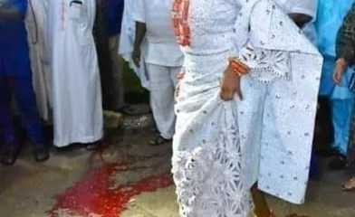 Ooni of Ife New Wife Performs Blood Rituals