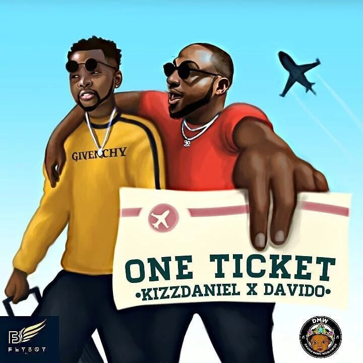 Download Kiss Daniel -- One Ticket Ft Davido (Prod by Major Bangz )