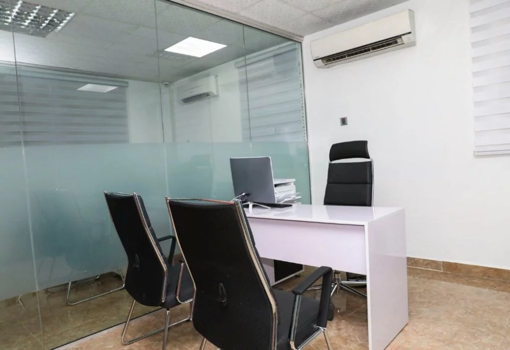 Inside View Of Akin Alabi & Nairabet Multi-Million Naira Mansion Office 14