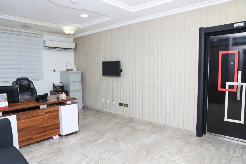 Inside View Of Akin Alabi & Nairabet Multi-Million Naira Mansion Office 19