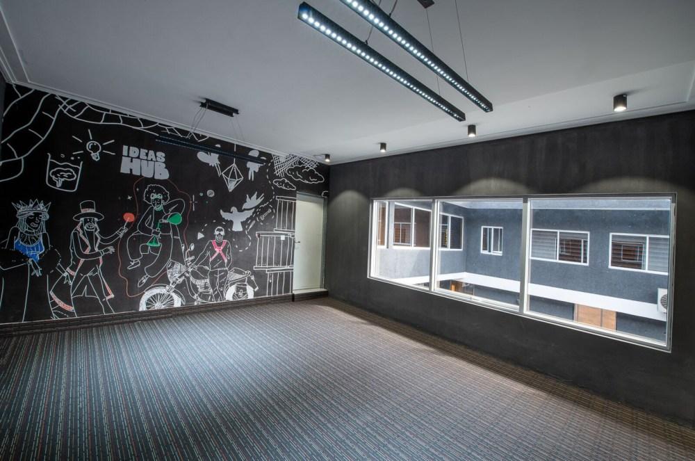 Inside View of Dare Art Alade Deola Art Alade Livespot Multi Million Dollar Office In Lagos 03