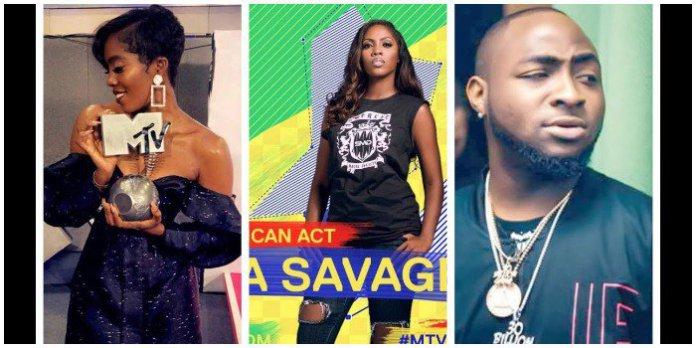 Tiwa Savage Wins 2018 MTV Europe Music Awards