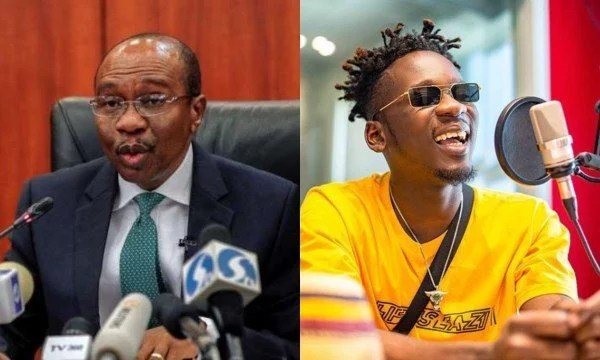 CBN Governor Godwin Emefiele Allegedly Tells Mr Eazi 'Your Dreadlocks Makes You Look Irresponsible'