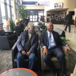 Atiku Arrives USA, Accompanied by Bukola Saraki, to Meets with Nigerians Living in Washington