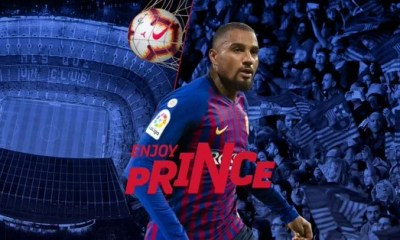 FC Barcelona Confirms Shocking Signing of Kelvin Prince Boateng