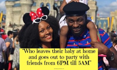 Gbenro Ajibade Calls Out his wife Osas Ighodaro for constantly Neglecting Their Child On Social Media
