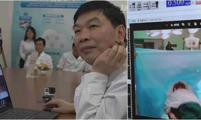 Meet Chinese Doctor Who Performs Remote Brain Surgery on Patient