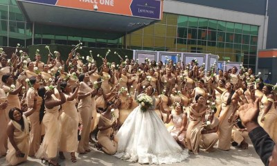 Sandra Ikeji Breaks Guinness World Record with Her White Wedding