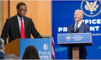 American President-Elect, Joe Biden Appoints Nigerian-born Adewale Adeyemo As US Deputy Treasury Secretary