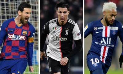Highest-paid footballers in the world 2021