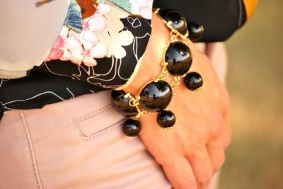 Bijoux Box Black Bracelet