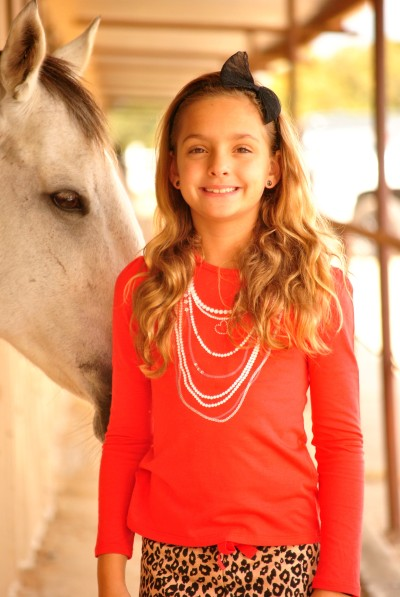 Leopard Ava and Horse Close