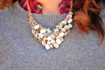 Christmas Outfit Necklace
