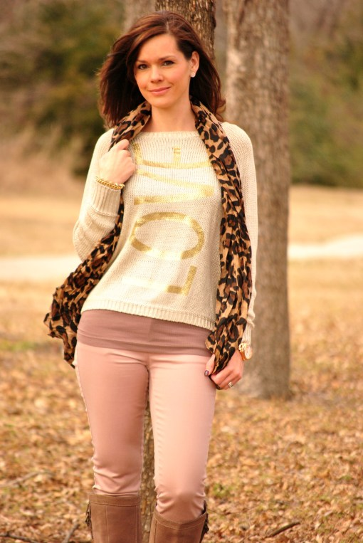 Alison Love Sweater Half