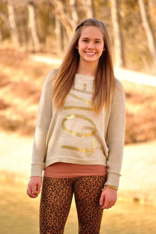 Aubrey Love Sweater Half