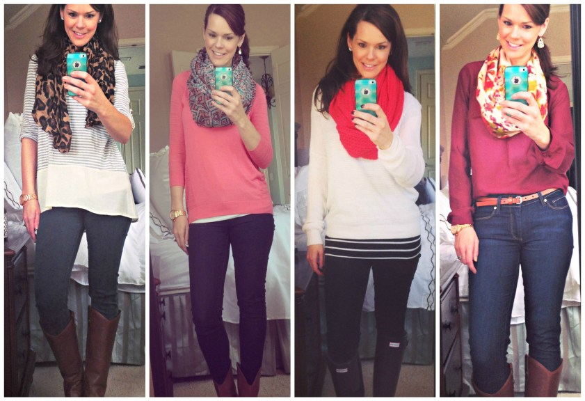 scarf-outfit-selfie
