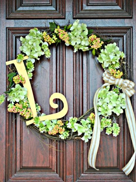 spring-wreath-initial