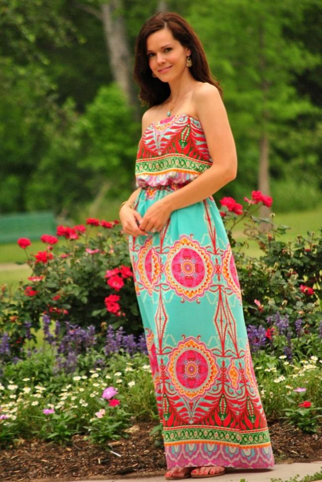 colorful-maxi-dress-cavenders