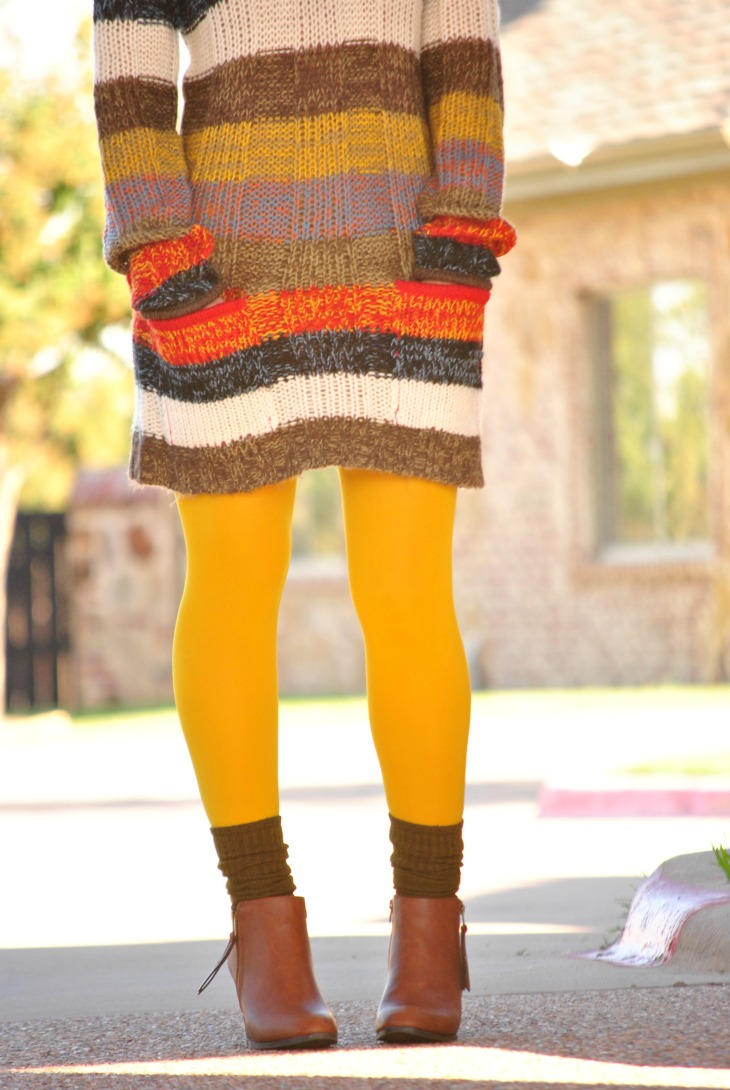 boot-socks-ankle-boots-tights-dress