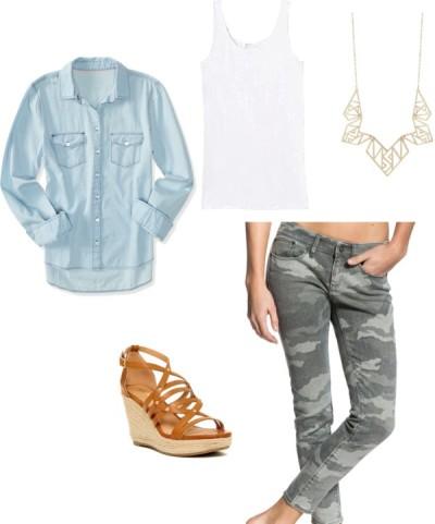 camo-jeans-denim-shirt