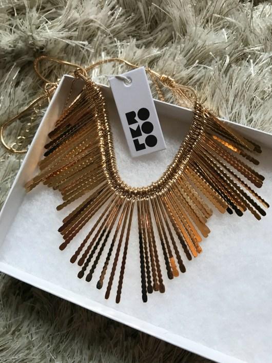stitch fix sunburst necklace