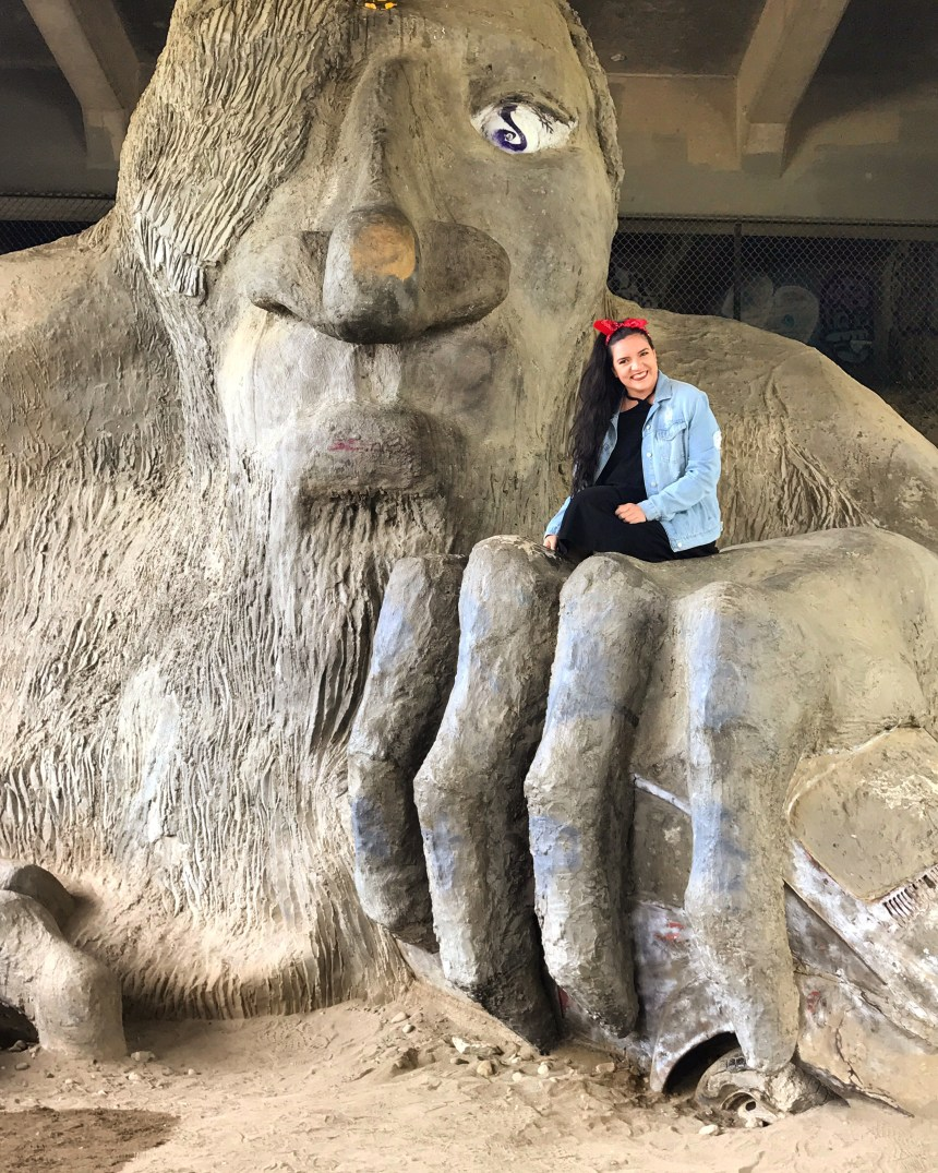 Fremont Troll - Seattle, Washington