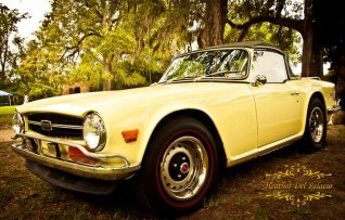 Classic cars at the Scottish Games2