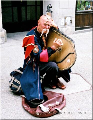 Polish Traditional Busker, Krakow, Poland