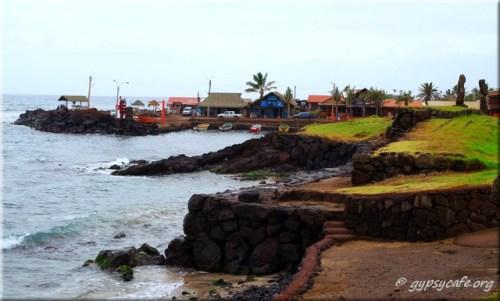 Hanga Roa Harbour - Easter Island - June 2015.