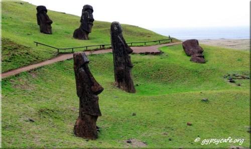 Moai Path - Ranu Raraku