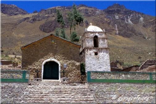 Colca Canyon Church