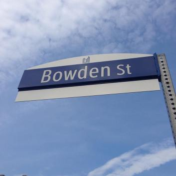 Location at Bowden and Danforth