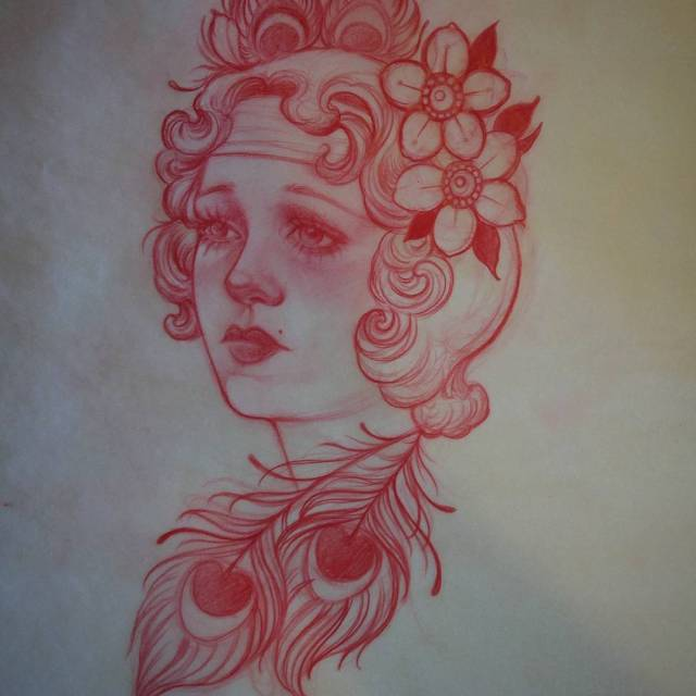 Would love to tattoo this design I drew up hellip