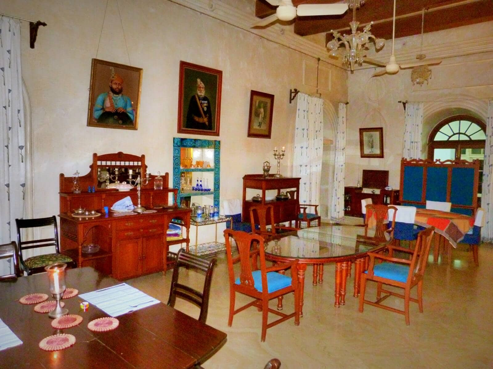 Dining room at Shahpura Bagh