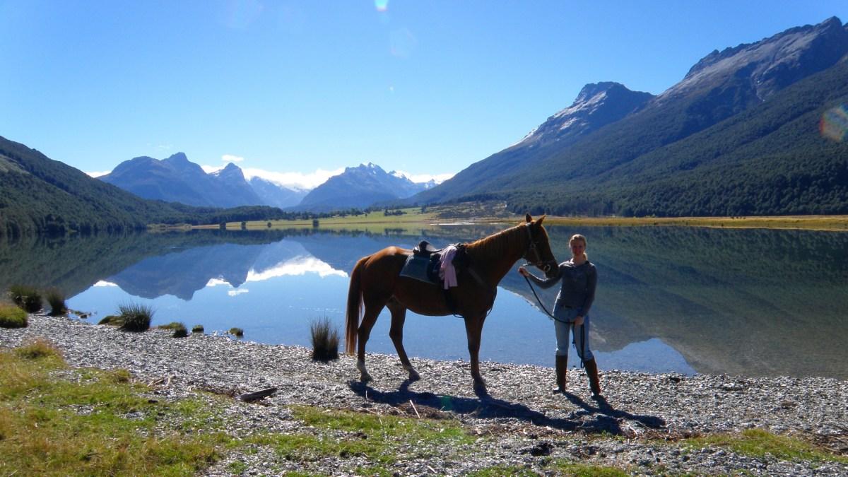 horseback riding glenorchy