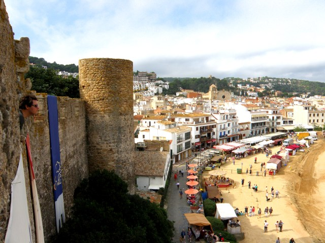 tossa de mar fortress spain