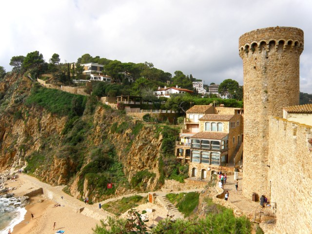 fortress tossa de mar spain