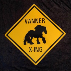 Vanner Crossing Sign