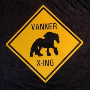 Vanner Crossing Sign