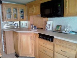Winnebago kitchen