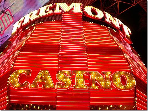 Fremont casino sign