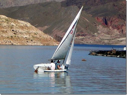 Lake Meade Sailboat 2