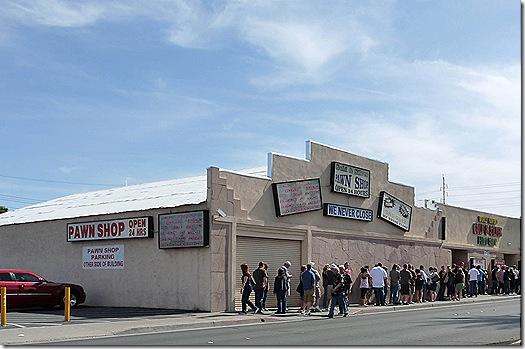 Pawn shop line