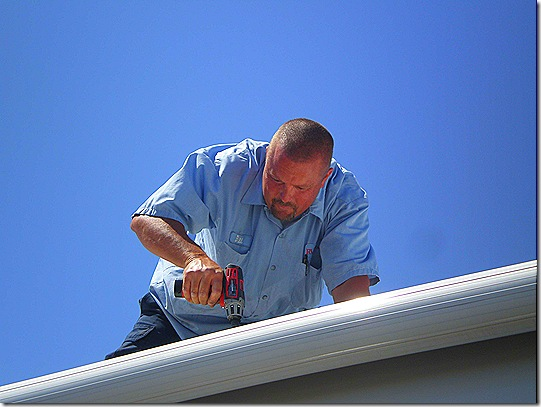Bill on roof