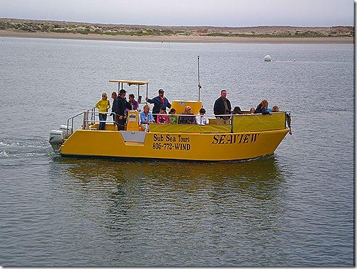Morro Bay tour boat