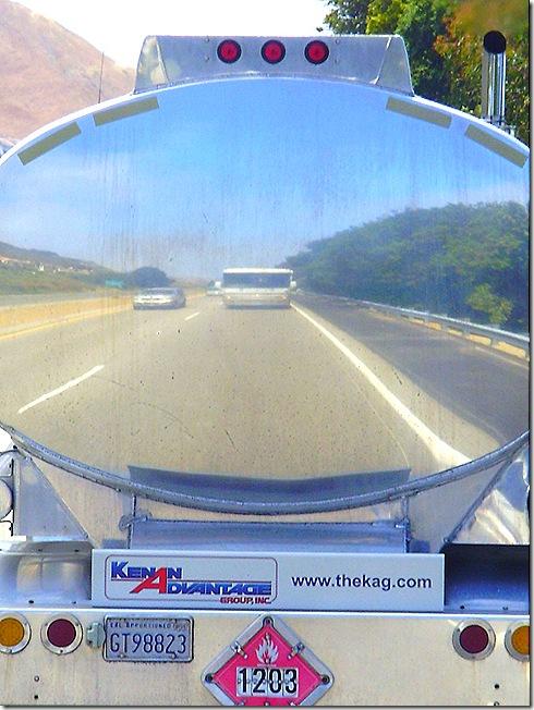 RV reflected in tanker 3